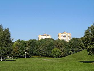 Dainava (Kaunas) - Friendship park in Dainava neighbourhood