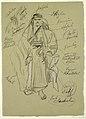 Drawing, Arabian Man, probably February 1868 (CH 18193615-2).jpg