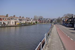 Driemond Village in North Holland, Netherlands