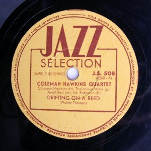 1944 in jazz - Coleman Hawkins/Thelonious Monk - drifting on a reed 1944