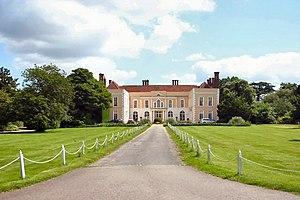 Hintlesham - Image: Driveway to Hintlesham Hall geograph.org.uk 472463