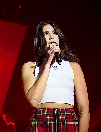 Dua Lipa - Lipa at the Hollywood Palladium in February 2018