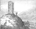 Dublin Penny Journal 1835-02-21 Conna Castle by E. Heyden.png