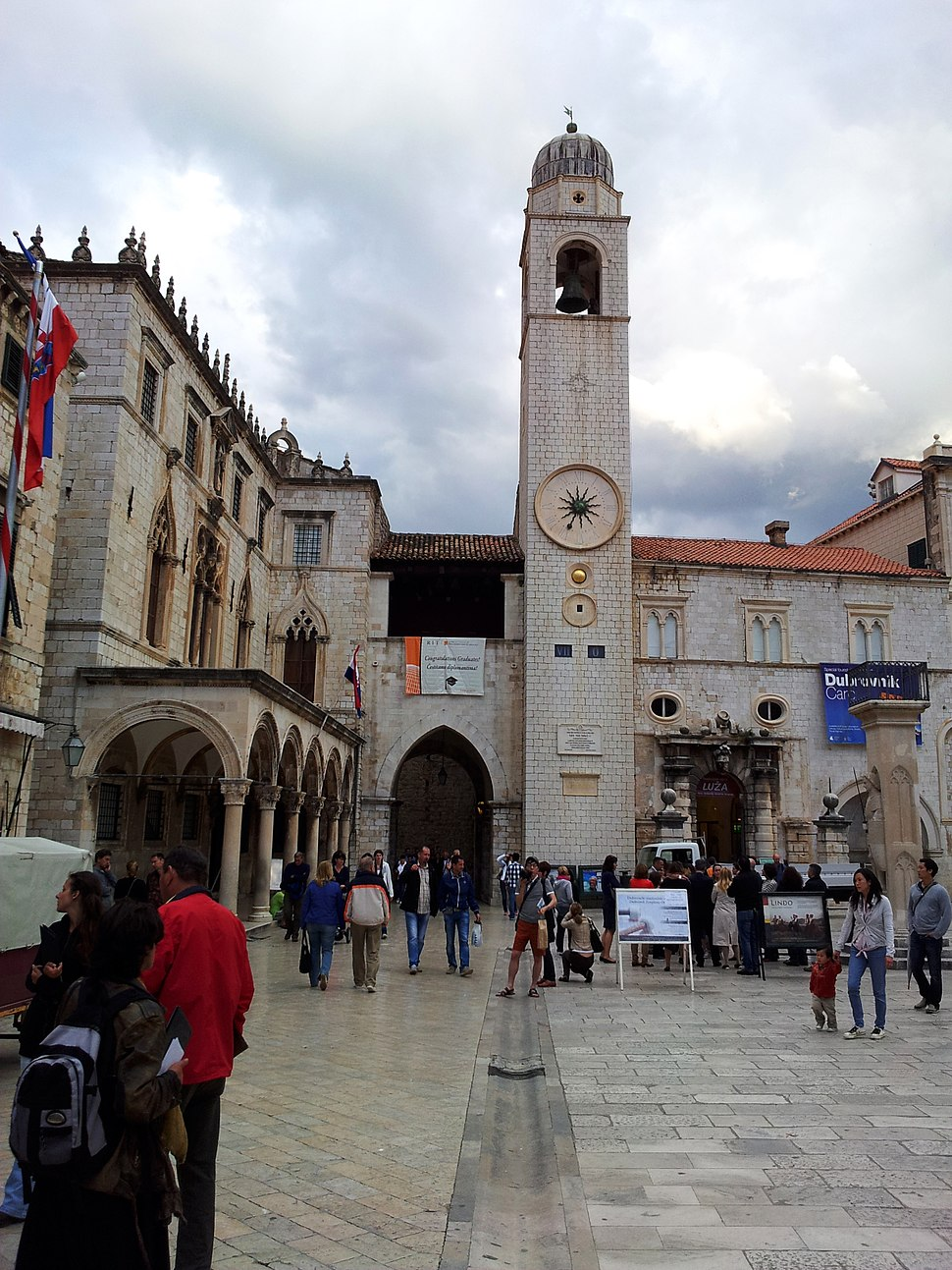 Dubrovnik Street and Facade
