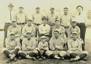 Dubuque, Iowa minor league baseball - Dubuque Climbers, 1923