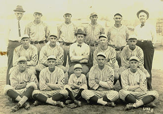 Dubuque, Iowa minor league baseball - Dubuque Climbers, 1923
