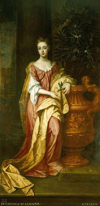 Diana Beauclerk, Duchess of St Albans - Image: Duchess of St Albans