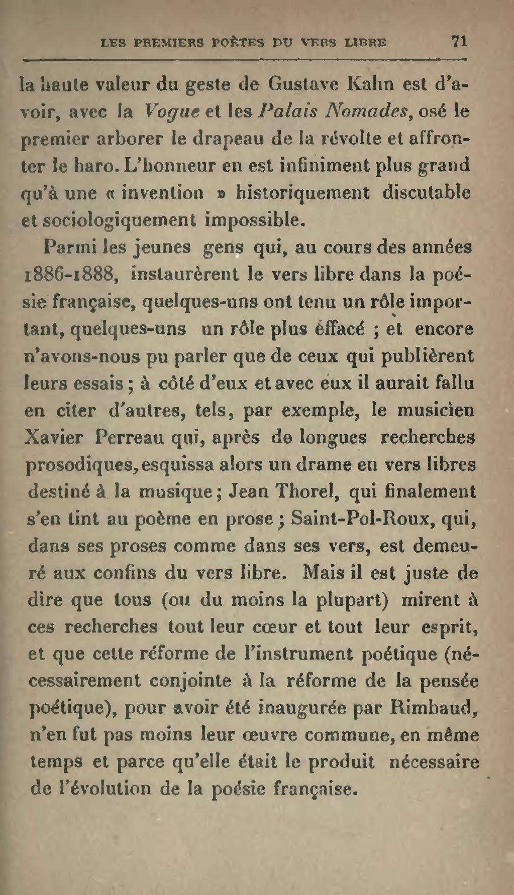 Pagedujardin Les Premiers Poètes Du Vers Libre 1922djvu