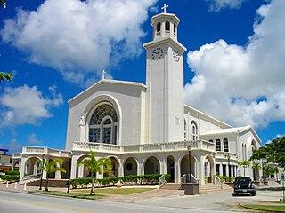 Church in Hagåtña, Guam