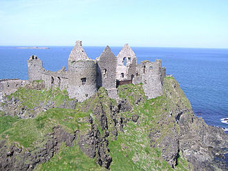Spanish Armada in Ireland - Dunluce Castle.