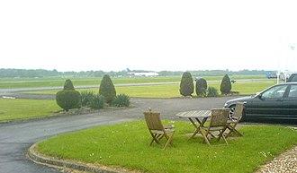 Dunsfold Aerodrome - View across the aerodrome
