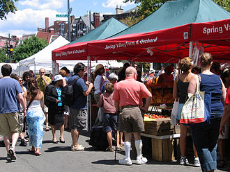 Dupont Circle - Dupont Circle Farmers Market occurs year-round on Sunday mornings