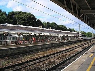 Durham railway station - Image: Durham