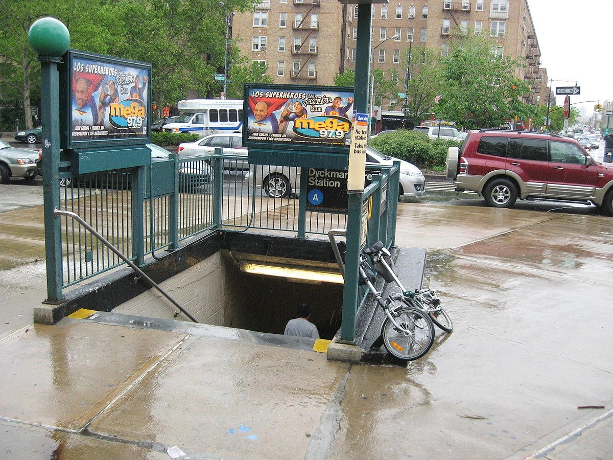 Dyckman Street (IND Eighth Avenue Line) - Wikipedia