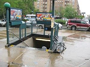 Dyckman Street (IND Eighth Avenue Line) - Image: Dyckmanstindjeh