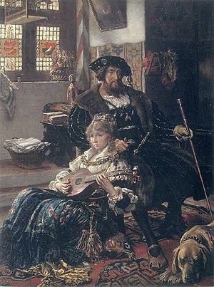 Dyveke Sigbritsdatter - Dyveke Sigbritsdatter and Christian II