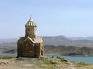 Armenian Monastic Ensembles of Iran - Chapel of Dzordzor