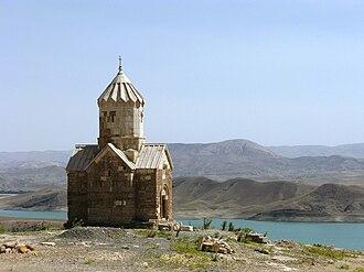 Armenian Monastic Ensembles of Iran - Chapel of Dzordzor