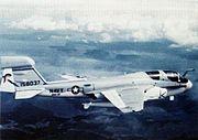 EA-6B Prowler VAQ-131 in flight c1973