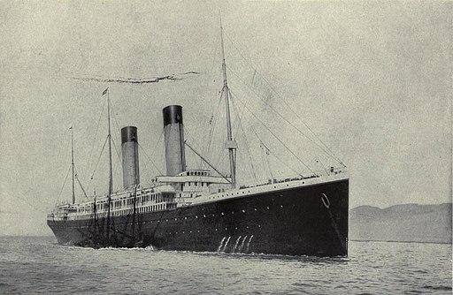 EB1911 Ship, White Star Liner, Oceanic