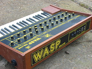 Electronic Dream Plant - The EDP Wasp Deluxe, with its more professional keyboard.