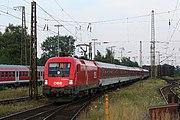 EN 482 Mnichov - Kodaň, v současném jízdním řádu pojmenován Hans Christian Andersen