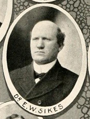 E. Walter Sikes - Sikes pictured in Howler 1903, Wake Forest yearbook