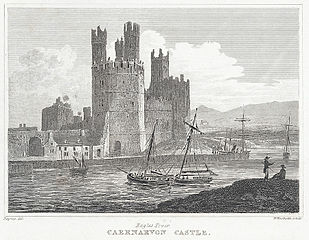 Eagles Tower, Carnarvon Castle