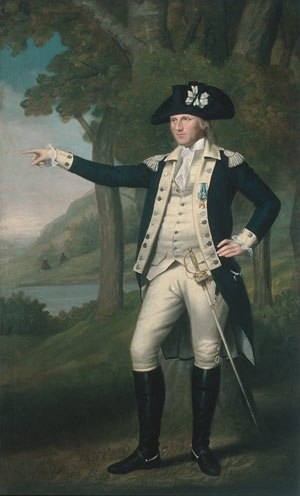 Battle of Oriskany - Lt. Col. Marinus Willett, a 1791 portrait by Ralph Earl