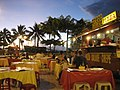 Early diners at Les Roulottes - the smell of cooking food is heavenly - panoramio.jpg