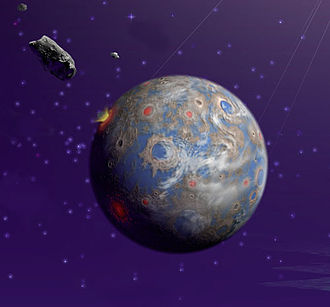 Space Interferometry Mission - SIM Lite would have been able to detect Earth-sized planets, such as in this artist's rendering.