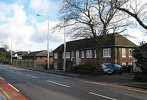 Officers' Training Corps - Army Reserve Centre, Broadgate, home of the East Midlands UOTC