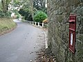 Ebbesbourne Wake, postbox No. SP5 23 - geograph.org.uk - 1030457.jpg