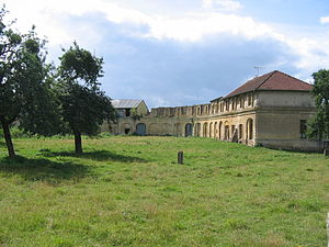 Buzancy, Ardennes - Stables of the Chateau Augeard