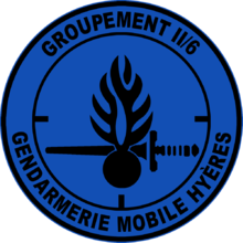 Image illustrative de l'article Groupement II/6 de Gendarmerie mobile