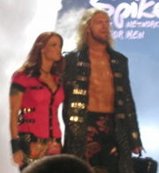 Edge and Lita in July 2005.