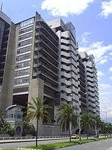 Edificio central de Empresas Públicas de Medellín, conocido como