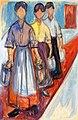 Edvard Munch - Charwomen at the Mutiger Ritter Hotel in Kösen.jpg