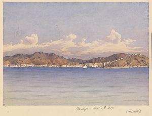 History of Málaga - Málaga, by Edward Gennys Fanshawe, 1857