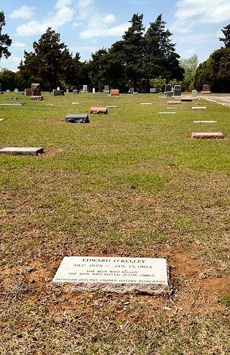 Edward Capehart O'Kelley - Edward O'Kelley's gravestone