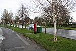 Edward VIII postbox on Queensgate, Bridlington (geograph 4804386).jpg