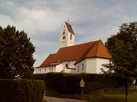 Eggenthal, church