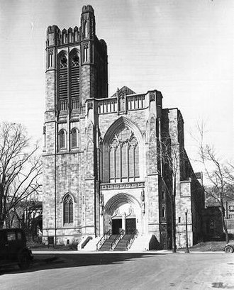 Church of St. Andrew and St. Paul - The Church of St. Andrew and St. Paul in 1936.