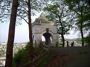 Sauerländischer Gebirgsverein - Ehmsen Memorial in Arnsberg