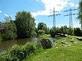 Eichstetten, Alte Dreisam mit Zufluss Mühlbach rechts.jpg