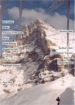 Image illustrative de l'article La Face nord de l'Eiger