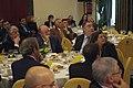 El president de Caja Madrid, Rodrigo Rato, atent seguint la intervenció d'Artur Mas a l'esmorzar col·loqui d'Europa Press a Madrid.jpg