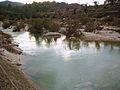 El riu Gorgos portant aigua, desembre 2007.jpg