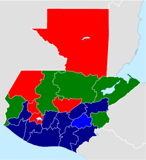 Guatemalan General Election Wikipedia - Argentina election map
