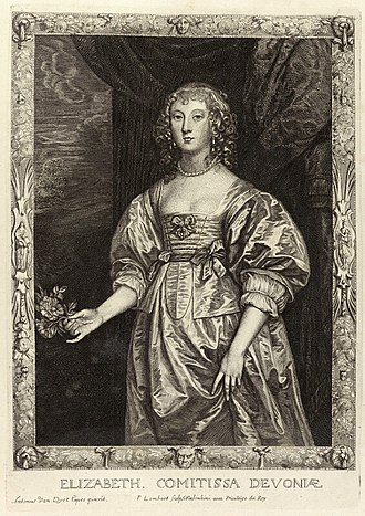 William Cavendish, 3rd Earl of Devonshire - Elizabeth, Countess of Devonshire